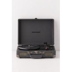 Crosley Cruiser Deluxe - Slate - Giradischi con Bluetooth e uscita stereo