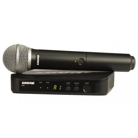 Radiomicrofono Shure PG58 /BLX24E - M17