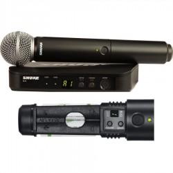 Radiomicrofono Shure SM58 /BLX24E - M17