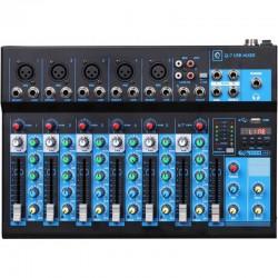 Mixer Q7 mk2 7 canali con Usb/bluetooth/mp3 player OQAN
