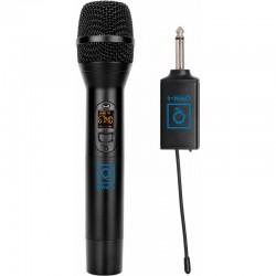 Radiomicrofono senza fili a batterie ricaricabile QWM4 OQAN