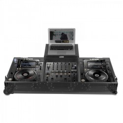 UDG Ultimate Flight Case Pioneer CDJ-2000/ 900NXS2 Black MK2 Plus