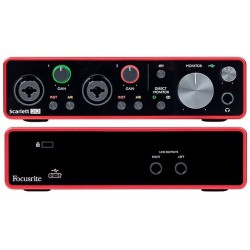 Focusrite Scarlett 2i2 (3rd Generation) Scheda audio Usb 2 In/2 Out