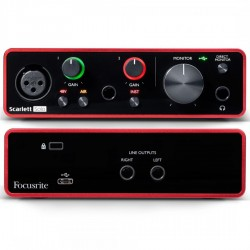 Focusrite Scarlett Solo (3rd Generation) Scheda audio Usb 2 In/2 Out