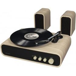 Giradischi con casse e puntina audiotechnica Crosley GIG - Nuova edizione con bluetooth