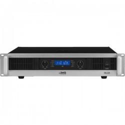 Amplificatore STA-225 1000WAmplificatore stereo PA, 1.000 W,con limiter integratoindicazione a LCD per temperatura, modi di funz