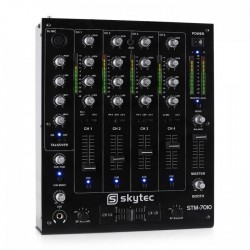 Cube 630/RGBW Testa Mobile 4 in 1 a Led RGBW con 6 Led da 30W ciascuno IMG Stageline