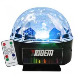 Macchina Fumo Geyser ZZJet 1500W Effettuo fumo verticale e orizzonale con fumo colorato,8 led RGB Wireless e DMX