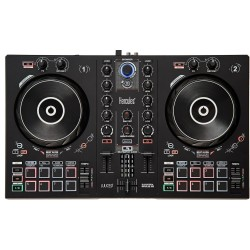 Numark Party Mix DJ consolle con scheda audio e effetto luce integrato