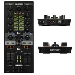 Radiomicrofono Doppio Gelato UHF Dual Channel WM219 ADJ con frequenze selezionabili