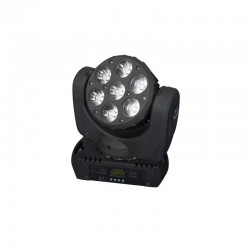 EX DEMO - OFFERTA Testa Mobile Led Beam Wash 7x12W Rockin' Head - Karma